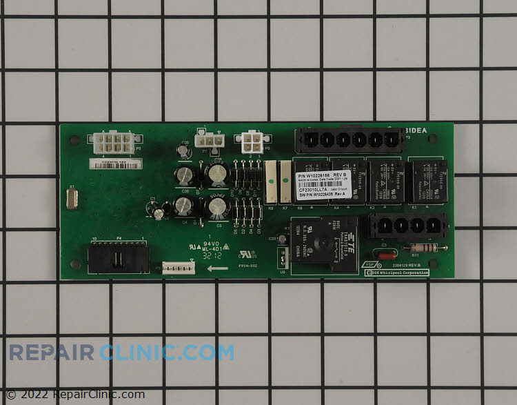 Main Control Board WPW10226156 Alternate Product View