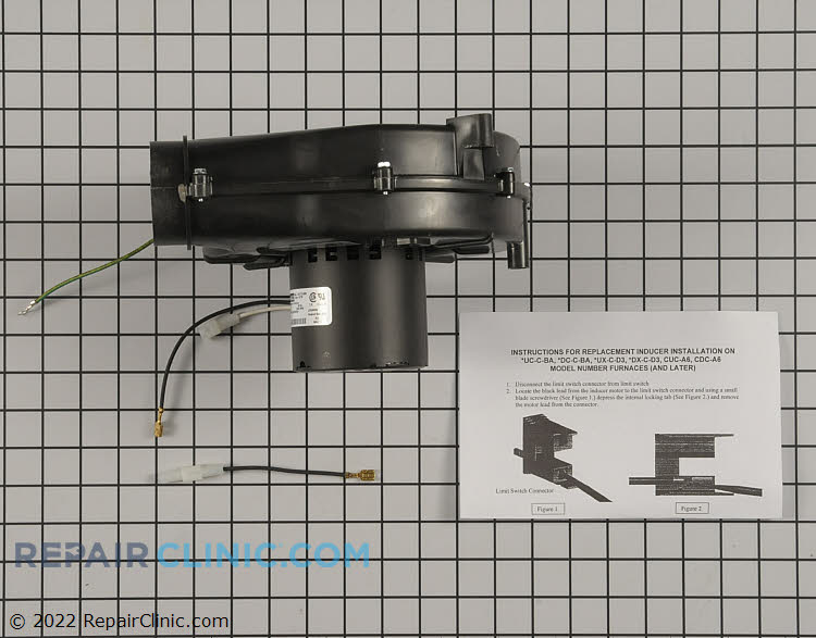 Draft Inducer Motor BLW01137 Alternate Product View