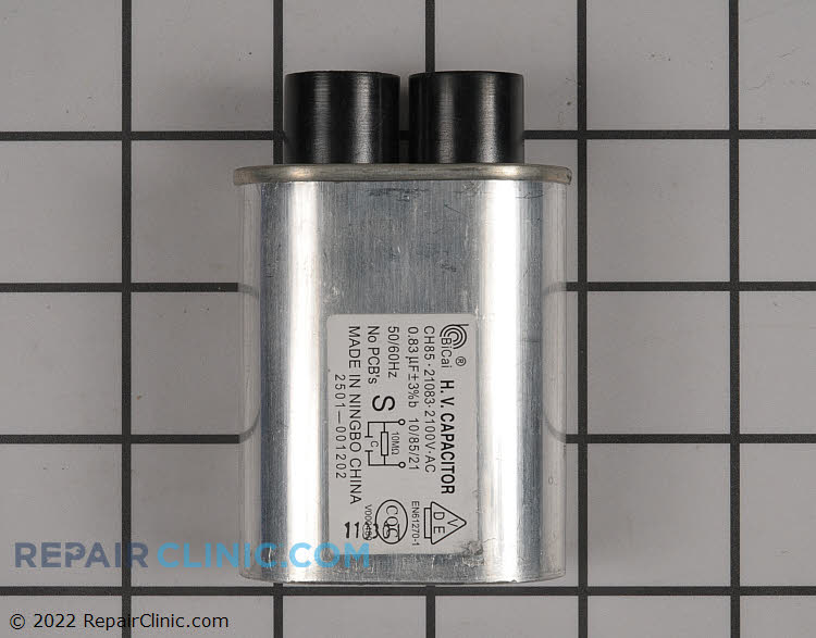 High Voltage Capacitor 2501-001202 Alternate Product View