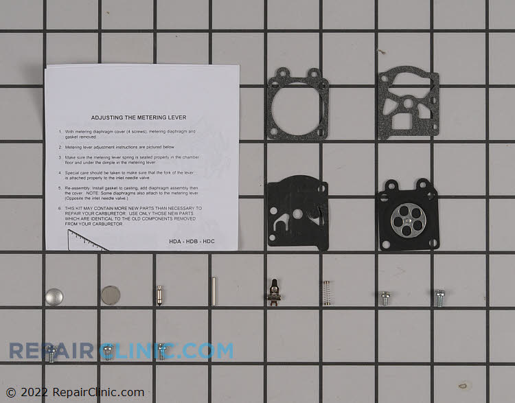 Carburetor Repair Kit 12310039130 Alternate Product View