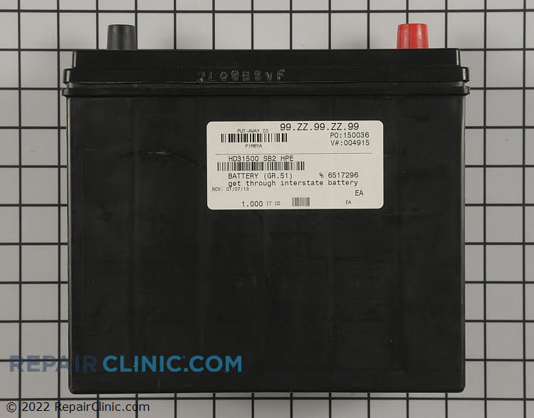 Battery 31500-SB2-HPE Alternate Product View
