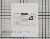 Tech Sheet - Part # 1259009 Mfg Part # 241588203