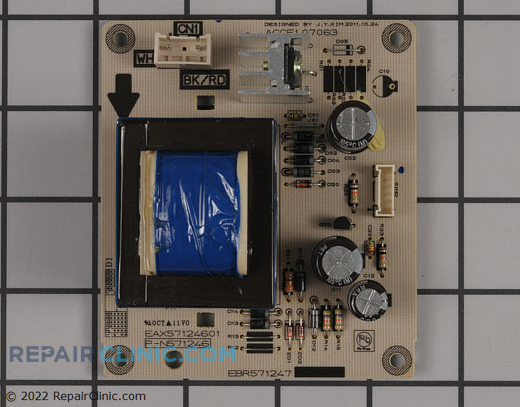 Power Supply Board EBR57124701     Alternate Product View