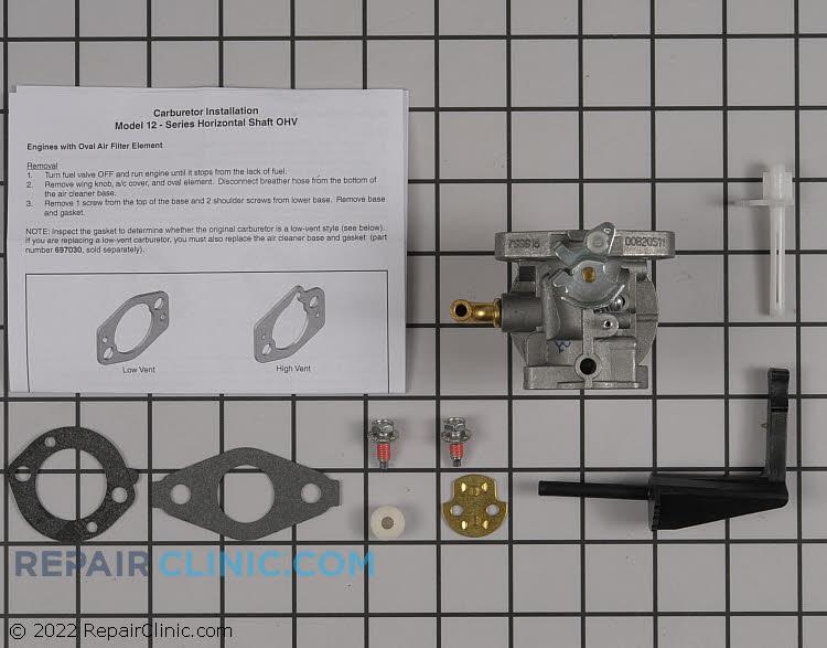 Carburetor 591299          Alternate Product View