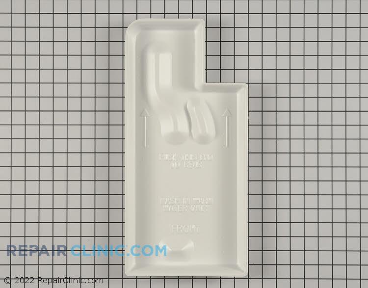 refrigerator drip pan. drip tray - part # 3289567 mfg wpw10614158 refrigerator pan i