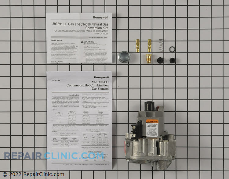 Gas Valve Assembly VR8300A3500 Alternate Product View