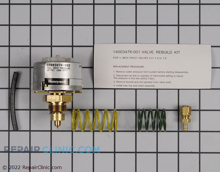 Pressure Regulator 14003476-001 Alternate Product View