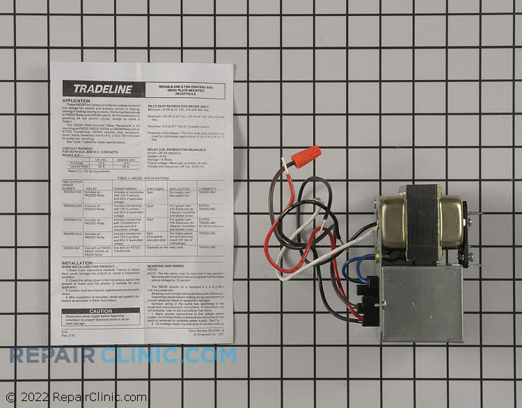 Fan Switch R8239A1052 Alternate Product View