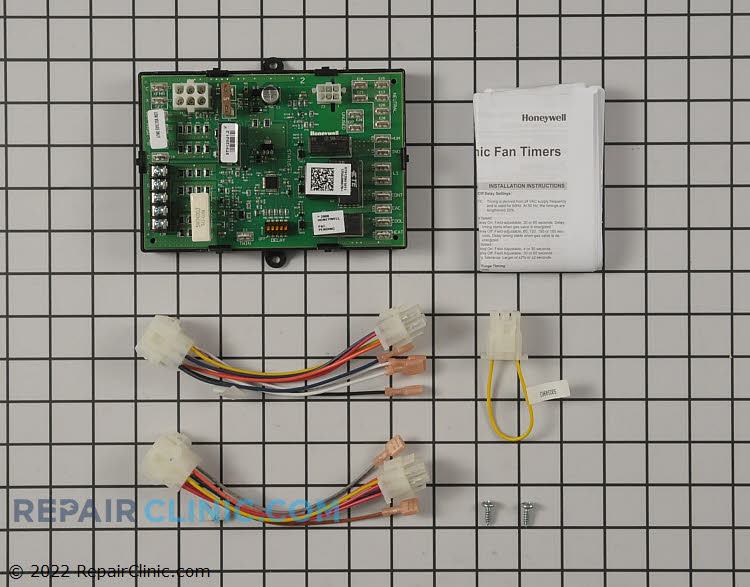 Universal electronic fan timer with adjustable heat