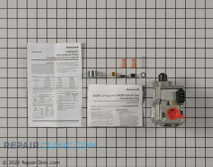 Gas Valve Assembly VR8304M3509 Alternate Product View