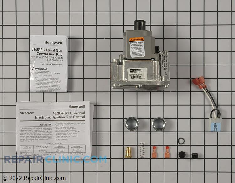 Standard dual direct ignition/intermittent pilot gas valve