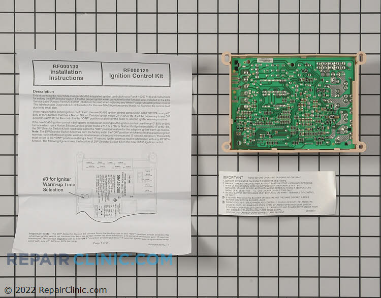 Control Board RF000129 Alternate Product View