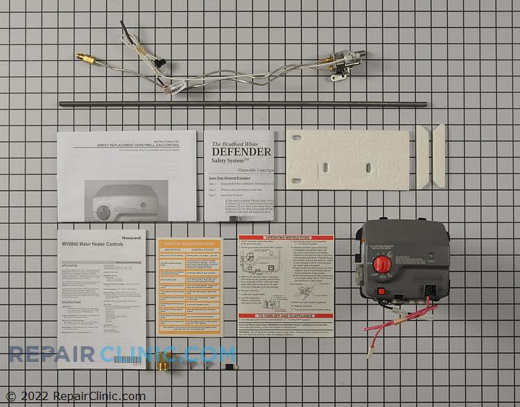 Gas valve assembly