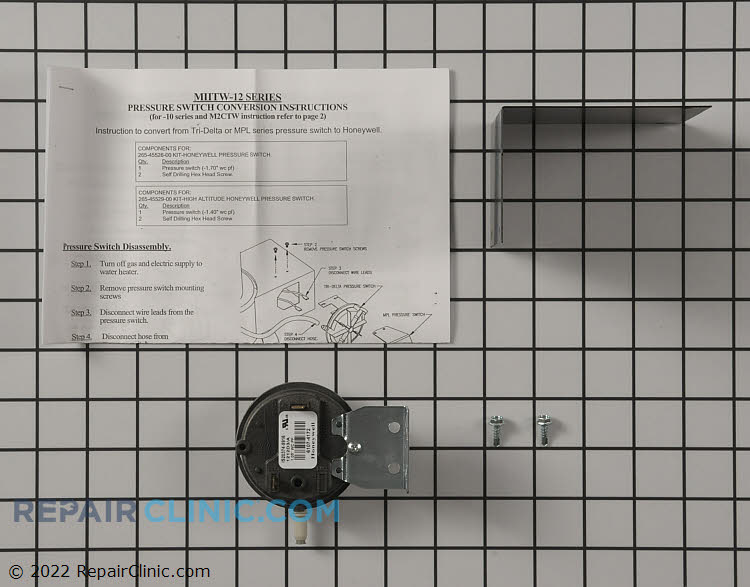 Pressure Switch 265-45525-00 Alternate Product View