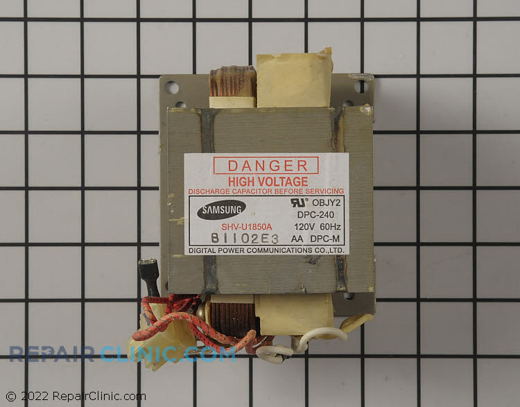 High Voltage Transformer DE26-00151A Alternate Product View