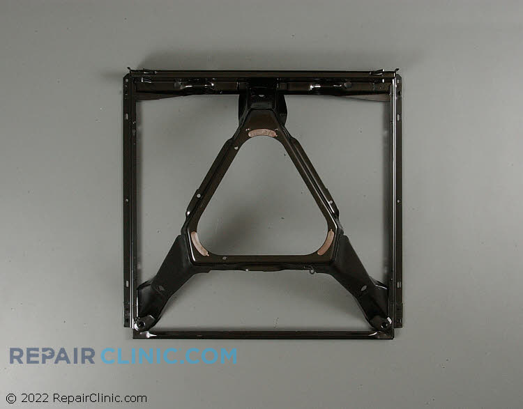 Direct drive washer base frame