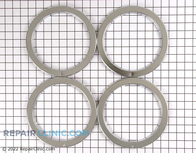 Burner ring, set of 4