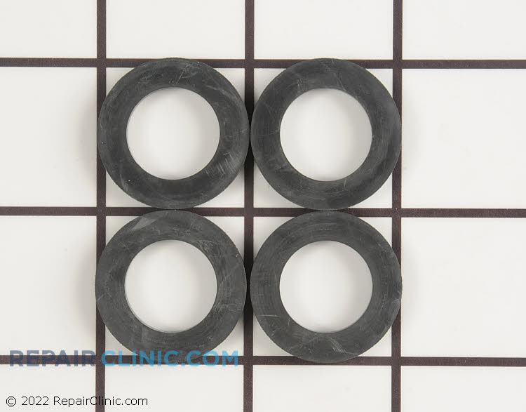 Standard rubber washer for washing machine fill hose, set of 4