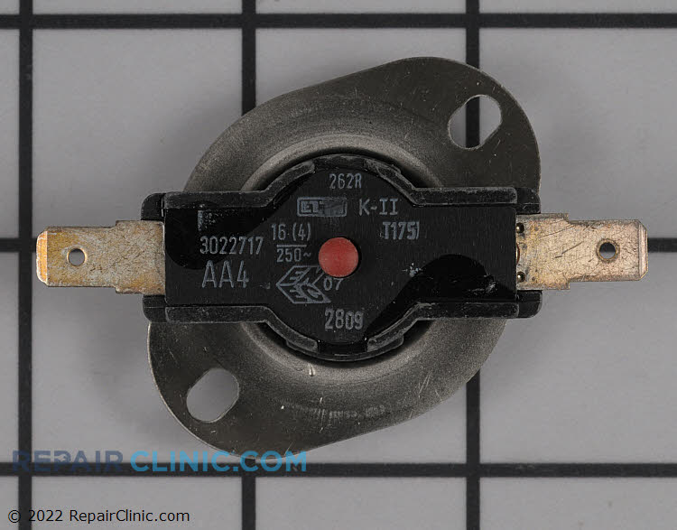 High Limit Thermostat 00170857 Alternate Product View