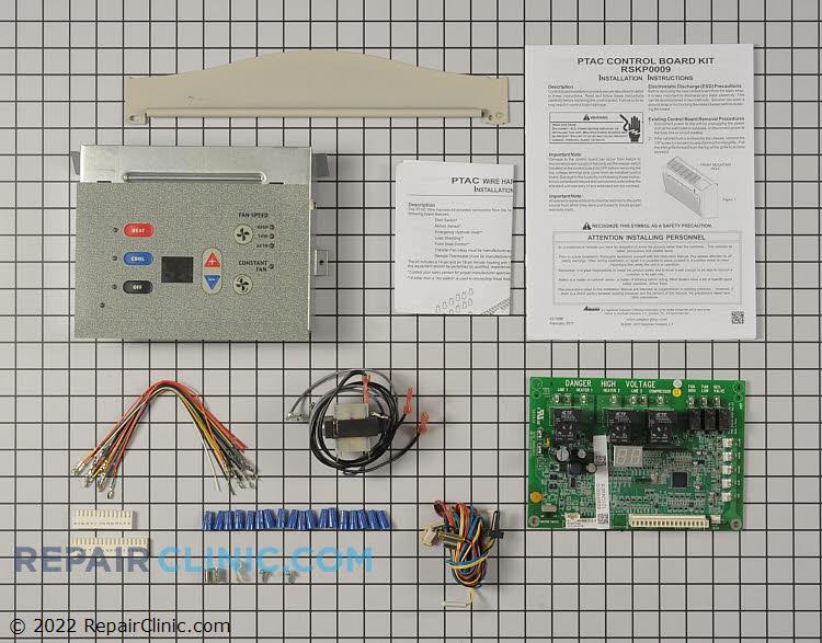 Temp/Fan control board
