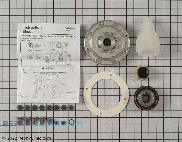 Tub Seal and Bearing Kit W10116791       Alternate Product View
