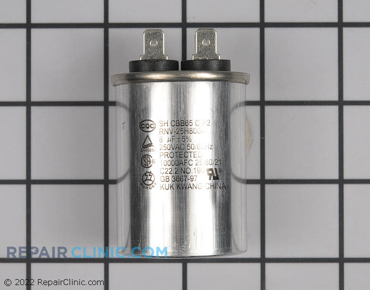 Run Capacitor WR62X10017      Alternate Product View