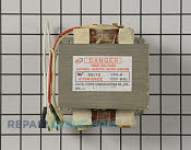 High Voltage Transformer - Part # 1582663 Mfg Part # 6170W1D052Z