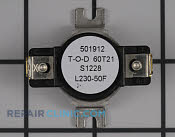 High Limit Thermostat - Part # 2068548 Mfg Part # DC47-00017A