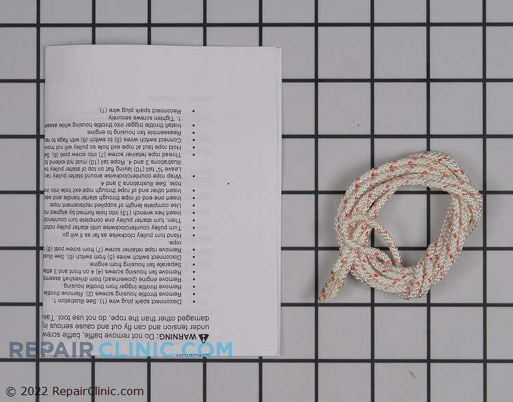 Starter Rope 545081833 Alternate Product View