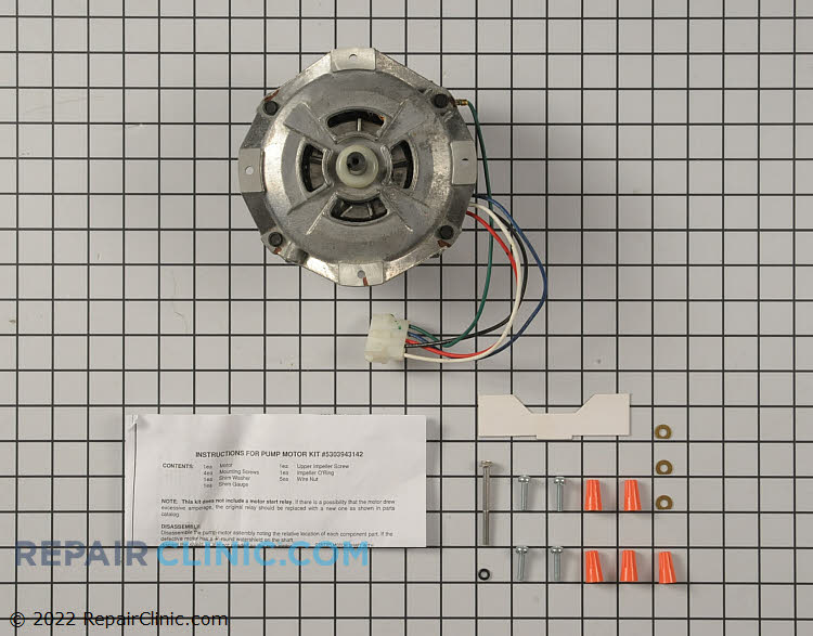 Circulation and Drain Pump Motor 5303943142 Alternate Product View
