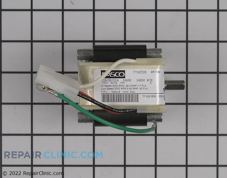 Draft Inducer Motor HC21ZE128 Alternate Product View