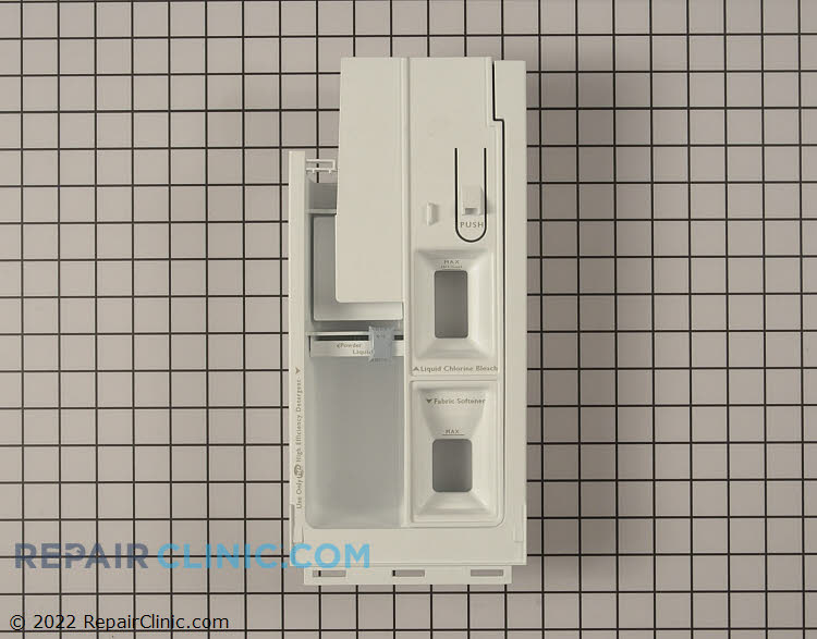 Dispenser Drawer WPW10256686 Alternate Product View