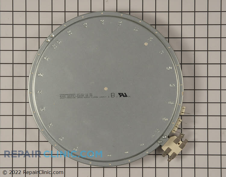 Radiant Surface Element DG47-00021B Alternate Product View