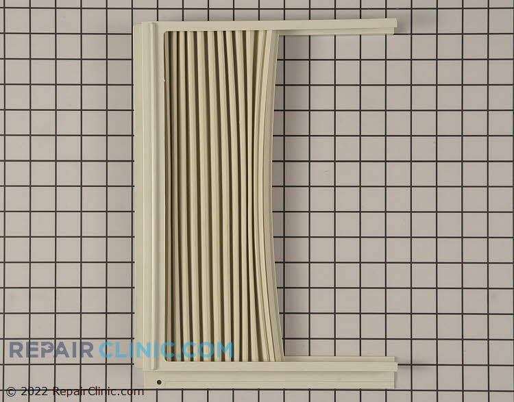 Air Conditioner Window Side Curtain And Frame 5304423372