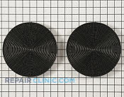 Charcoal Filter - Part # 1550120 Mfg Part # W10272068