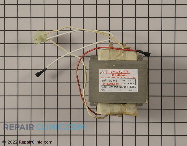 High Voltage Transformer 6170W1D052M Alternate Product View
