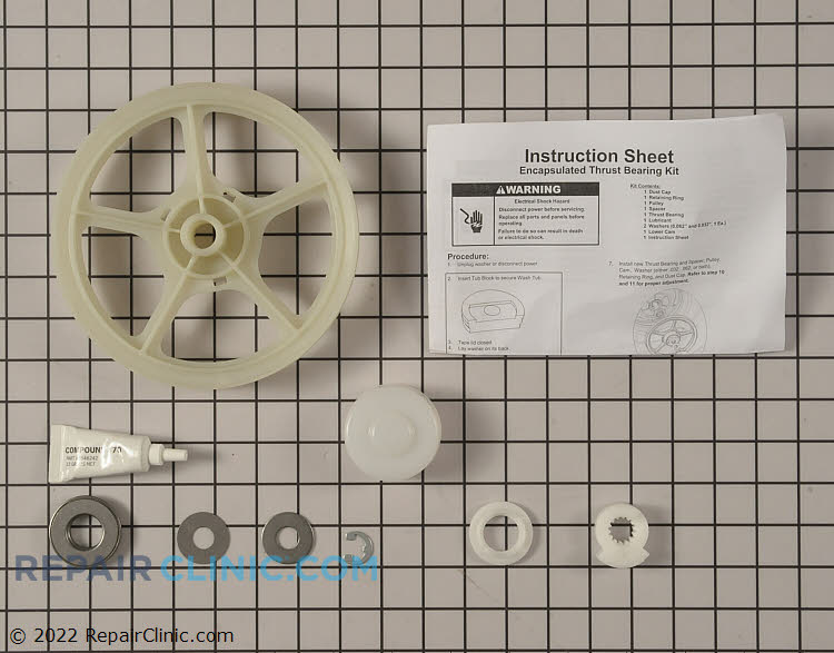 Drive Pulley 12002213 Alternate Product View