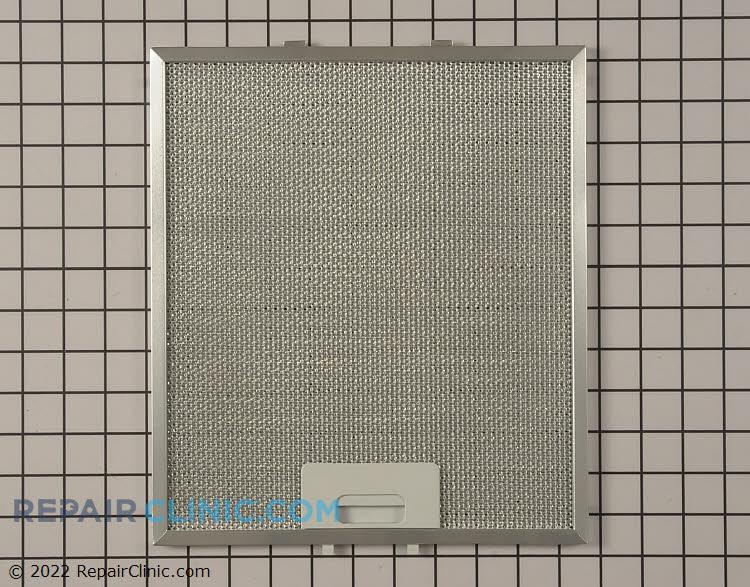 Grease filter for range vent hood