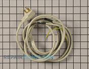 Power Cord - Part # 2369479 Mfg Part # 52CQ400994