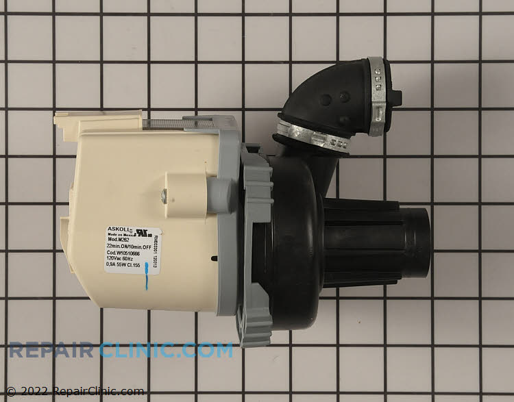 Circulation Pump WPW10510666 Alternate Product View
