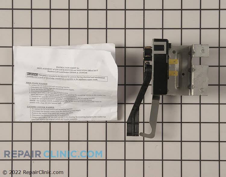 Door Lock WH12X10035 Alternate Product View
