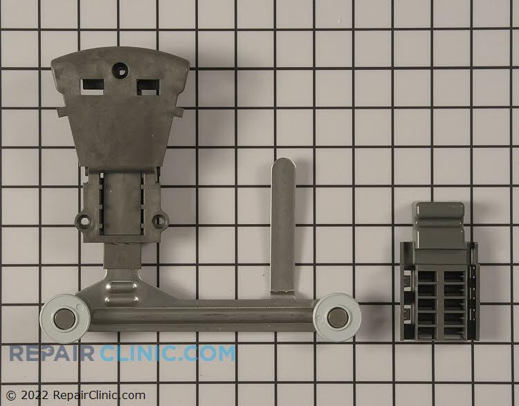Right side upper rack track adjuster kit