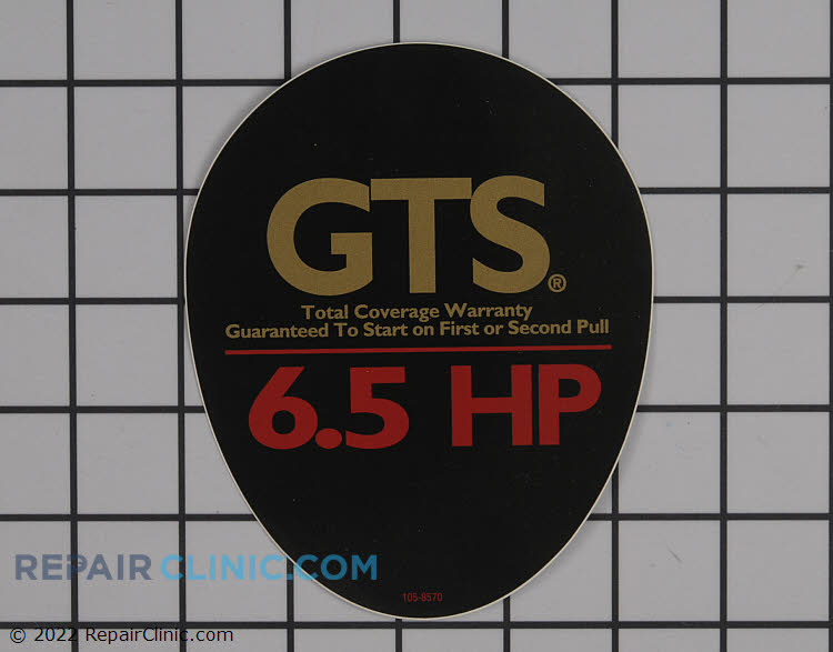 Decal 105-8570 Alternate Product View