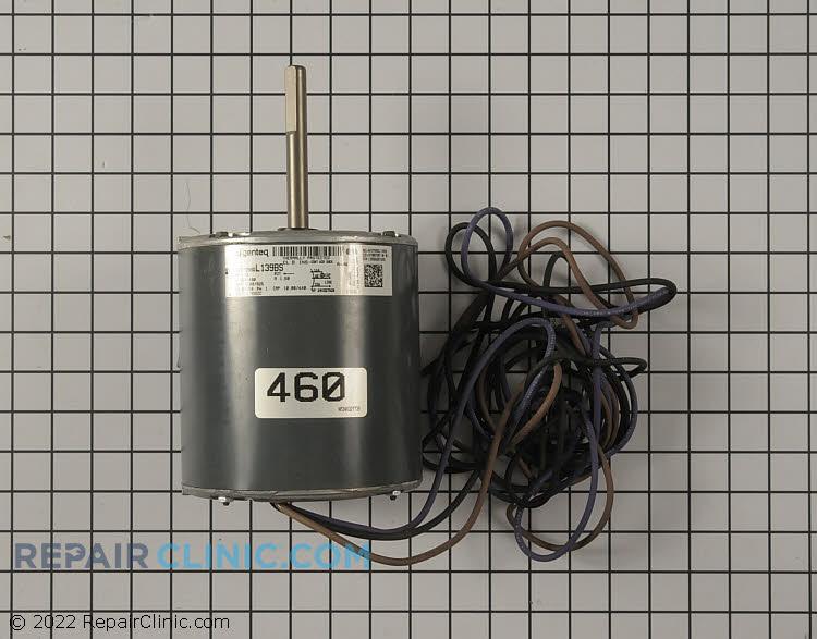 Motor; 1/2hp, 400-460/50-60/1, 1100/925 rpm, ccw, 4