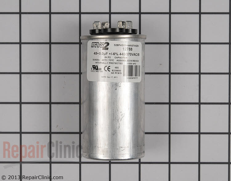 Dual Run Capacitor CPT00656 Alternate Product View