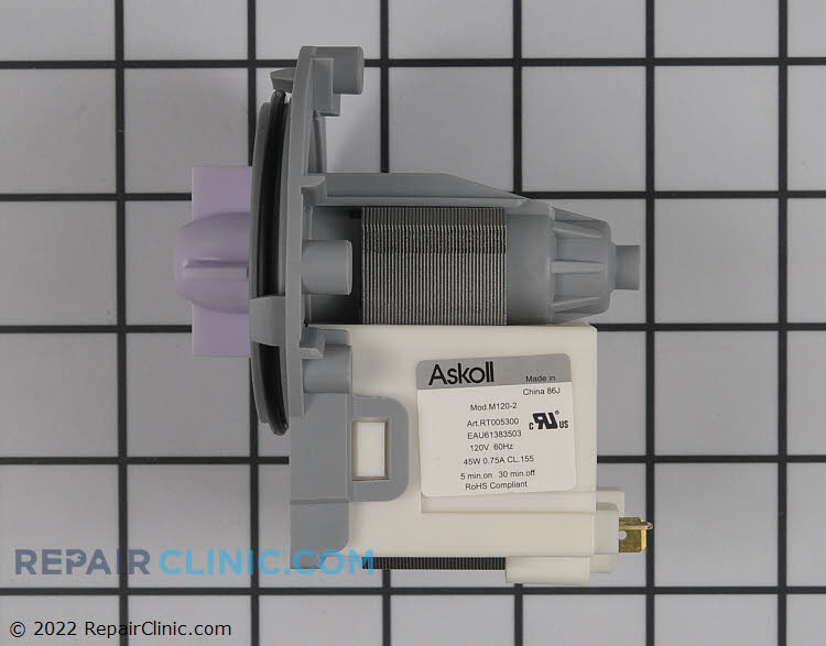 Circulation Pump EAU61383503 Alternate Product View