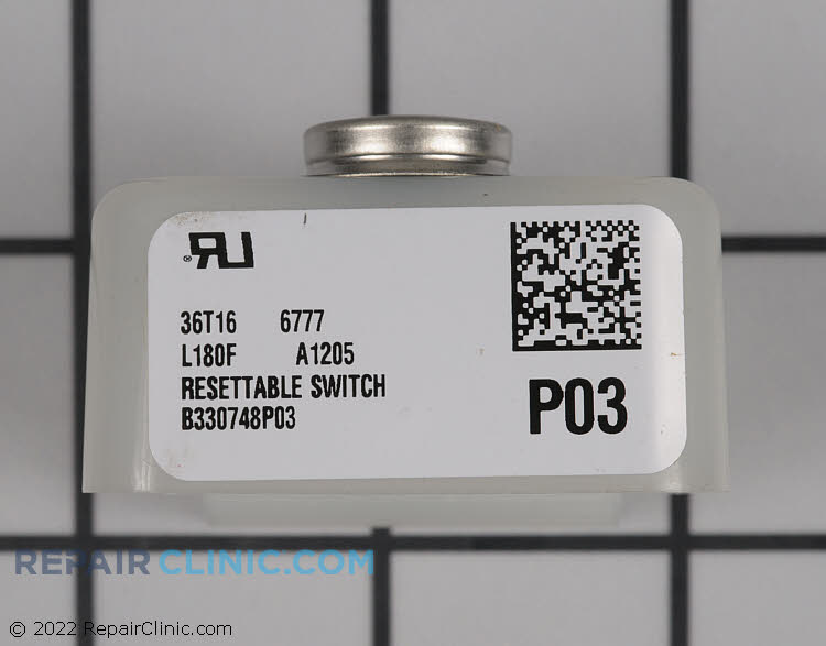 Flame Rollout Limit Switch SWT02124 Alternate Product View