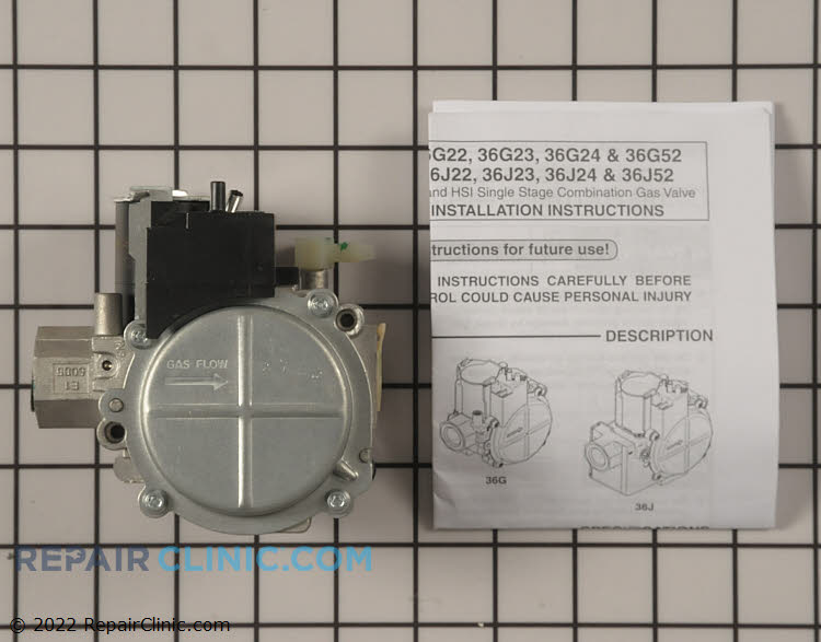 Gas Valve Assembly VAL07731 Alternate Product View