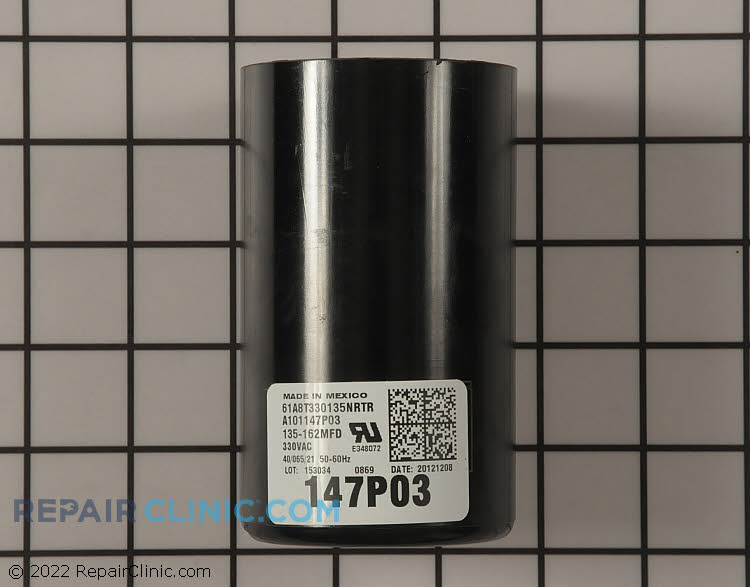 Start Capacitor CPT02327 Alternate Product View