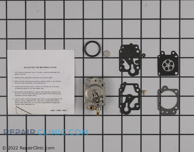 Carburetor Repair Kit 12310057730 Alternate Product View